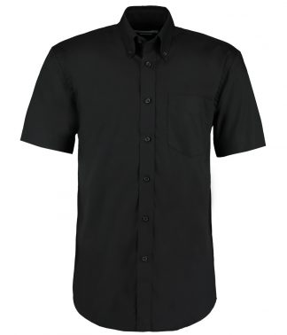 Kus. Kit C/F S/S Prem. Oxford Shirt Black 23 (K109 BLK 23)