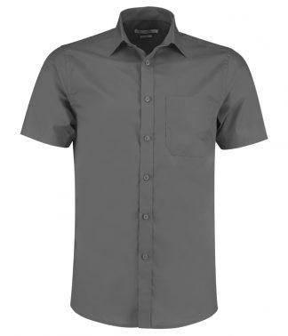 Kus. Kit T/F S/S Poplin Shirt Graphite 23 (K141 GPH 23)