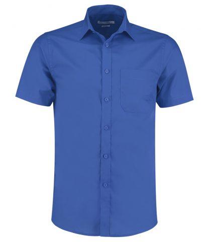 Kus. Kit T/F S/S Poplin Shirt Royal 23 (K141 ROY 23)