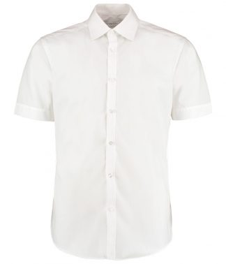 Kus. Kit S/F S/S Business Shirt White 18 (K191 WHI 18)