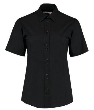 Kus. Kit Lds T/F S/S City Shirt Black 20 (K387 BLK 20)
