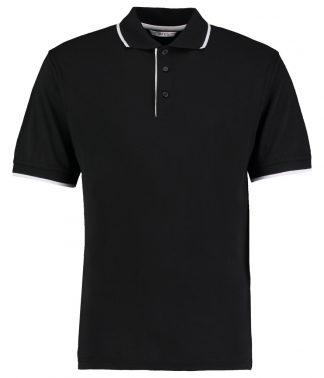 Kus. Kit Essential Polo Black/white XXL (K448 BK/WH XXL)