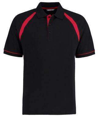 Kus. Kit Oak Hill Polo Black/br. Red XXL (K615 B/BRE XXL)