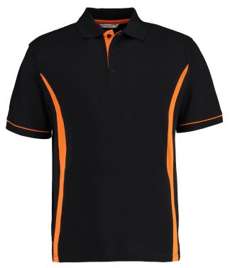 Kus. Kit Scottsdale Polo Black/orange XXL (K617 BK/OR XXL)