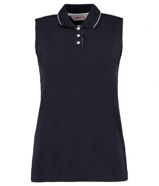 Gamegear Lds S/less polo Navy/white 20 (K730 NV/WH 20)