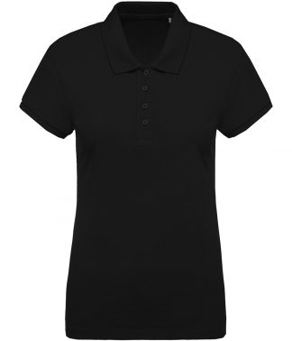 Kariban Lds Organic Pique Polo Black XL (KB210 BLK XL)