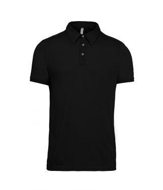 Kariban Jersey Polo Shirt Black XXL (KB262 BLK XXL)