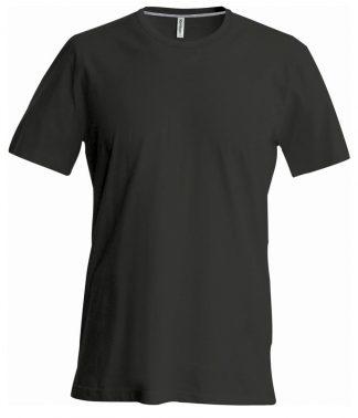 Kariban Crew Neck T-Shirt Black 3XL (KB356 BLK 3XL)