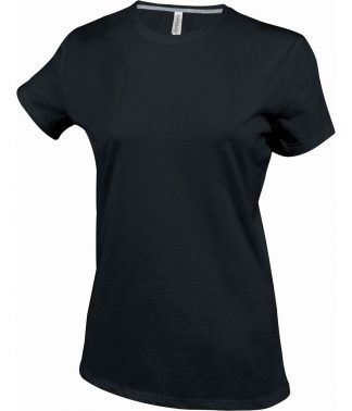Kariban Ladies Crew Neck T-Shirt Black XXL (KB380 BLK XXL)
