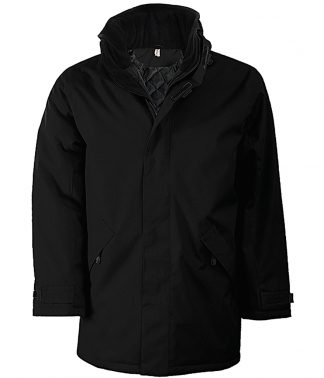 Kariban Parka Jacket Black/black 4XL (KB677 BK/BK 4XL)