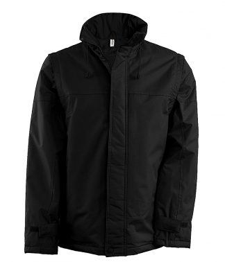 Kariban Factory Zip Off Slv Jkt Black/black 3XL (KB693 BK/BK 3XL)