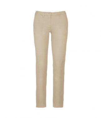 Kariban Lds Chino Trousers Beige 18=46 (KB741 BEI 18=46)