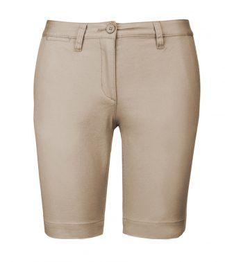 Kariban Lds Chino Bermuda Shorts Beige 18=46 (KB751 BEI 18=46)