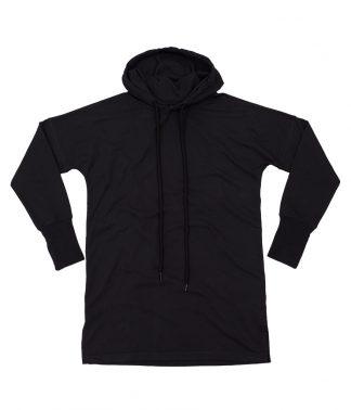 Mantis Lds Hoodie Dress Black XL (M142 BLK XL)