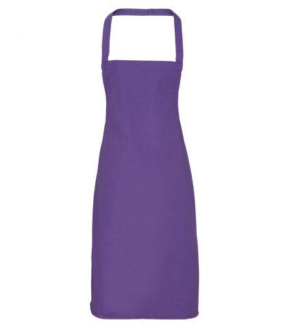 Premier Cotton Apron Purple ONE (PR102 PUR ONE)