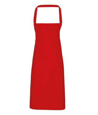 Premier Cotton Apron Red ONE (PR102 RED ONE)