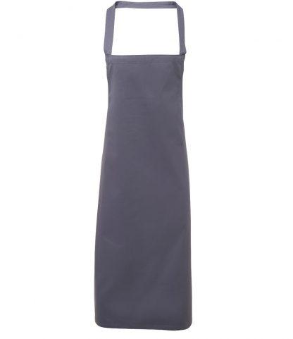 Premier Cotton Apron Steel grey ONE (PR102 STE ONE)