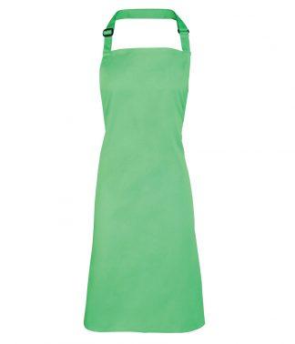 Premier Colours Bib Apron Apple Green ONE (PR150 APL ONE)