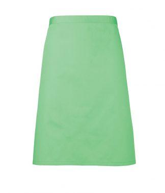 Premier Colours Mid Apron Apple Green ONE (PR151 APL ONE)
