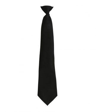 Premier Colours Clip Tie Black ONE (PR785 BLK ONE)