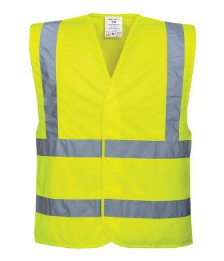 Portwest Hi-Vis Vest Yellow 4XL/5XL (PW002 YEL 4XL/5XL)
