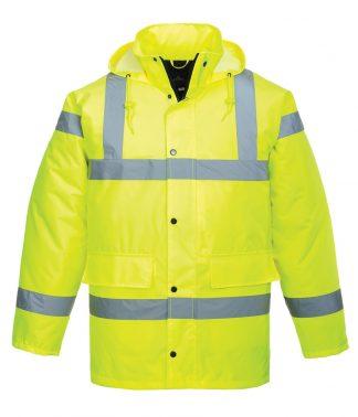 Portwest Hi-Vis Traffic Jacket Yellow 3XL (PW003 YEL 3XL)