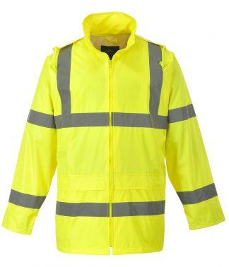 Portwest Hi-Vis Rain Jacket Yellow XXL (PW011 YEL XXL)