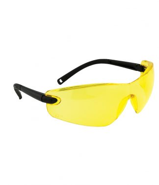 Portwest Profile Safety Spectacle Amber ONE (PW033 AMB ONE)