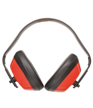 Portwest Classic Ear Protector Red ONE (PW038 RED ONE)