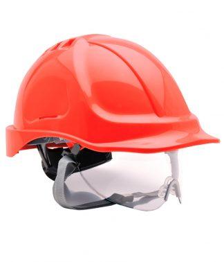 Portwest Endurance Visor Helmet Red ONE (PW040 RED ONE)