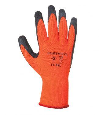 Portwest Thermal Grip Gloves Orange XXL (PW071 ORA XXL)