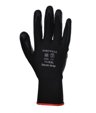 Portwest Dexti-Grip Gloves Black XL (PW075 BLK XL)