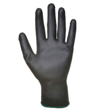 Portwest PU Palm Gloves Black XL (PW083 BLK XL)