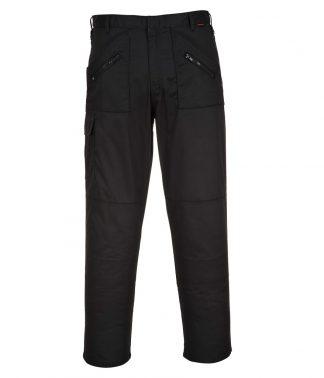 Portwest Action Trousers Black 46/T (PW101 BLK 46/T)