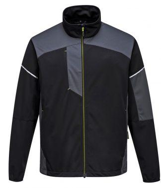 Portwest PW3 Flex Shell Jacket Black/zoom grey 3XL (PW1010 BK/ZG 3XL)