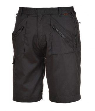 Portwest Action Shorts Black XXL (PW103 BLK XXL)