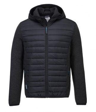 Portwest KX3 Baffle Jacket Grey marl/black 3XL (PW1121 GM/BK 3XL)