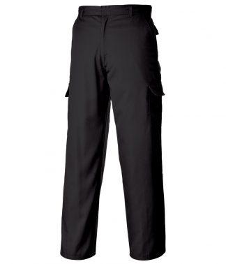 Portwest Combat Trousers Black 42/L (PW125 BLK 42/L)