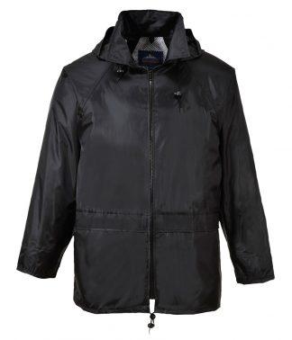 Portwest Classic Rain Jacket Black XXL (PW166 BLK XXL)
