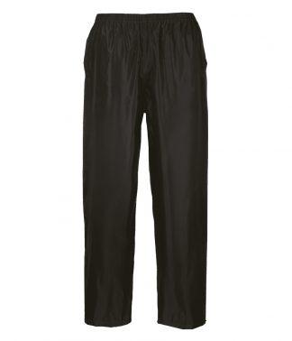Portwest Classic Rain Trousers Black XXL (PW167 BLK XXL)