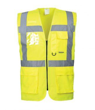 Portwest Hi-Vis Exec Vest Yellow XXL (PW303 YEL XXL)