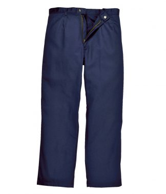 Portwest Bizweld Flexi Waist Trousers Navy 3XL/R (PW455 NAV 3XL/R)