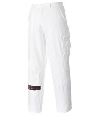 Portwest Painters Trousers White XXL/R (PW645 WHI XXL/R)