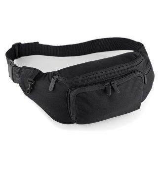 Quadra Deluxe Belt Bag Black ONE (QD12 BLK ONE)