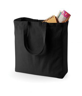 Quadra Canvas Shopper Black ONE (QD23 BLK ONE)