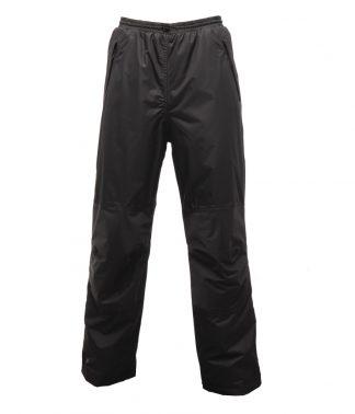 Regatta Wetherby Overtrousers Black XXL/R (RG030 BLK XXL/R)