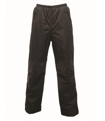 Regatta Linton Overtrousers Black XXL/R (RG031 BLK XXL/R)
