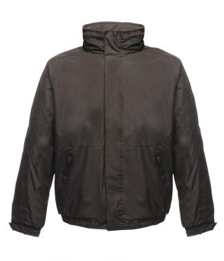 Regatta Dover Jacket Black/ash 5XL (RG045 BK/AS 5XL)