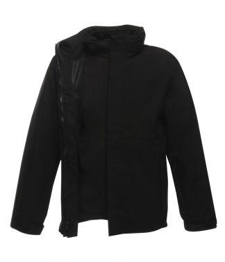Regatta Kingsley 3-in-1 Jacket Black 3XL (RG098 BLK 3XL)