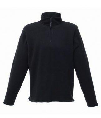 Regatta Zip Neck Micro Black 4XL (RG134 BLK 4XL)